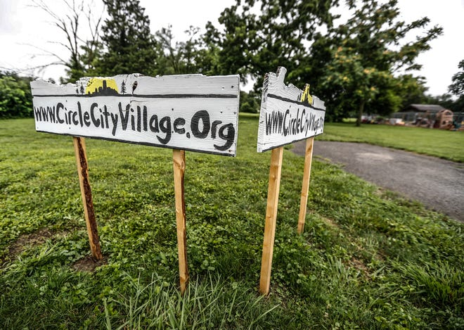 The proposed site for Circle City Village, a tiny house village for those in need, on Friday, July 16, 2021, at 1318 S. Lyndhurst in Indianapolis. The project is a partnership between Circle City Village and Lynhurst Baptist Church located next door to the proposed site.