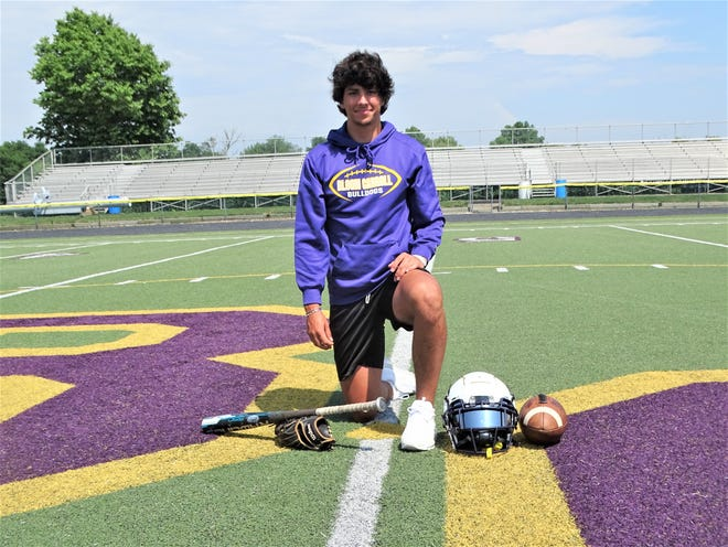 Bloom-Carroll junior Beau Wisecarver is the 2021 Eagle-Gazette Male Athlete of the Year. Wisecarver earned All-Ohio honors in football and was a standout outfielder in baseball.