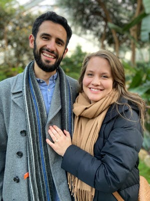 Amir Shahidi and Megan Wallen