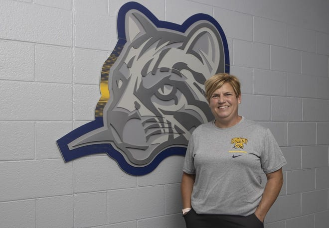 Northville cross country coach Nancy Smith was named the head coach of the first Schoolcraft cross country program in five years.