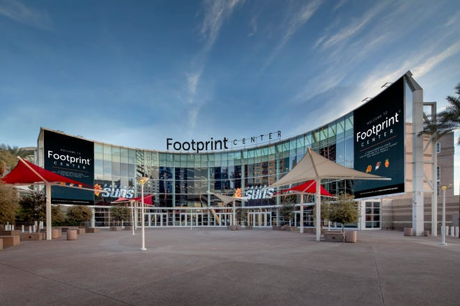 Footprint Center is the new name of the Phoenix Suns downtown arena.