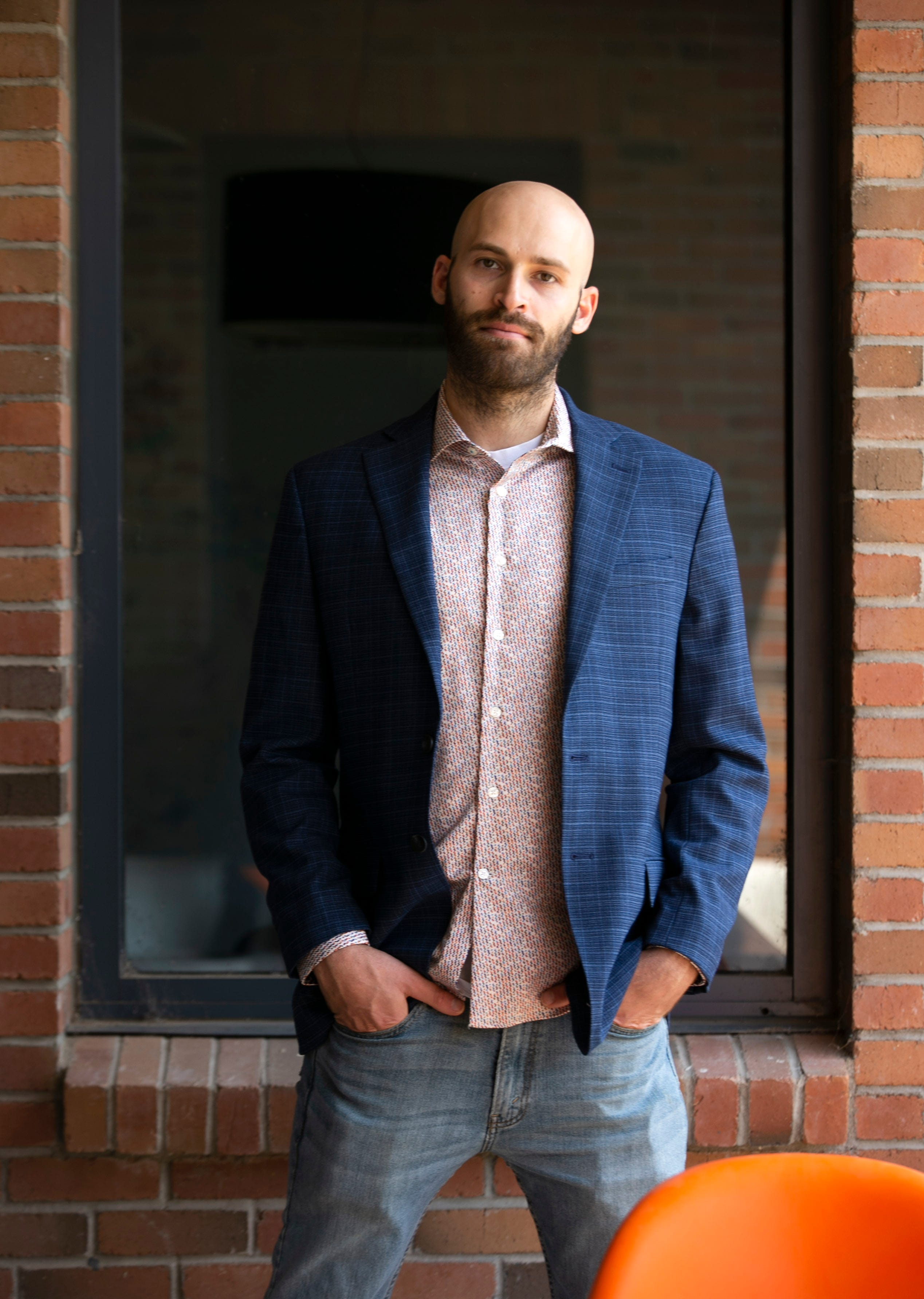 Jonathan Udell is an attorney with the Rose Law Group and a communications director with Arizona NORML. He is seen at the Rose Law Group offices in Scottsdale on July 16, 2021.