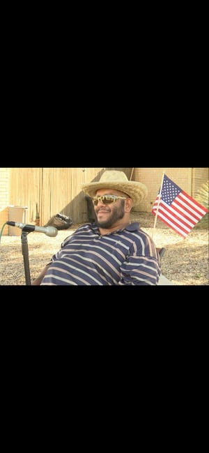 Miguel Angel Ramirezwas most known as the smiling, waving man sitting on the corner of Summit Lane. and Southwest Blvd. wearing his straw sunhat, sunglasses and American flag.