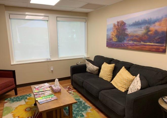 SAFE Center's family waiting room.