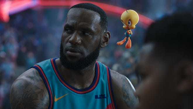 LeBron James stars in the new Space Jam film on HBO Max.