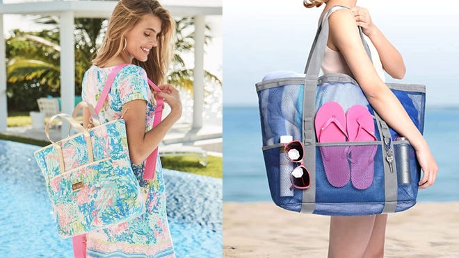 10 beach bags that will carry all of your things this summer