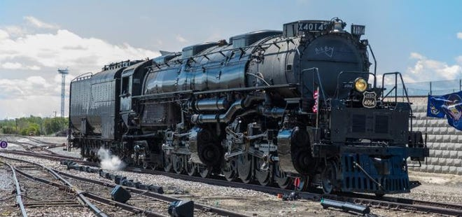 Twenty-five Big Boys were built exclusively for Union Pacific Railroad, the first of which was delivered in 1941.