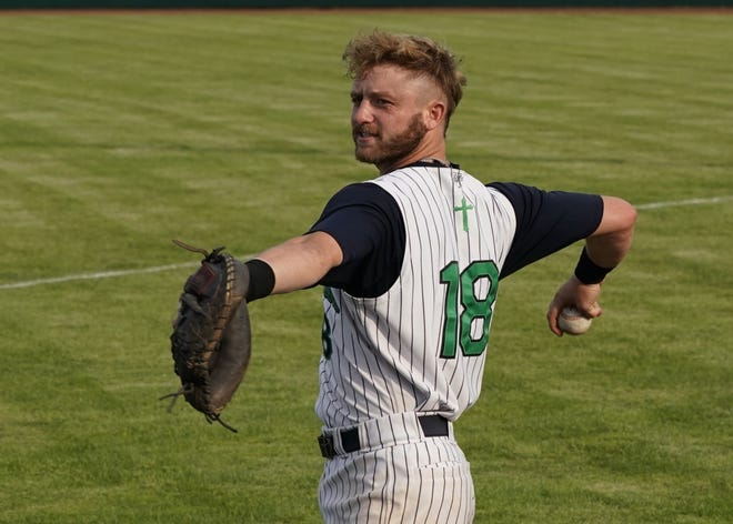 Whiteford graduate Josh Beck is playing for the Michigan Monarchs of the Great Lakes Summer Collegiate Baseball League this summer.