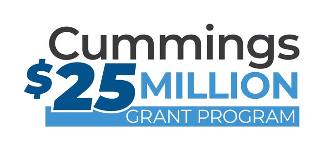 Pictured: Cummings $25 Million Grant program logo.