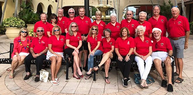 The 2021 Marco Island House and Business Decorating Contest committee members.