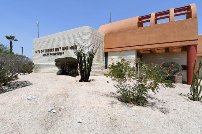 Police Department in Desert Hot Springs, Calif., on Thursday, July 15, 2021.