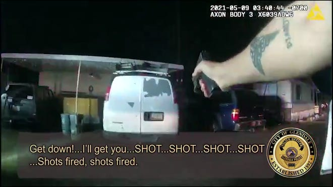 Glendale Police Department released edited video of a shooting on May 9, 2021, that killed 28-year-old Maxwell Davis.