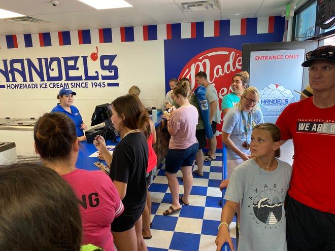 Handel's Homemade Ice Cream celebrates 1 year anniversary with a year of free ice cream.