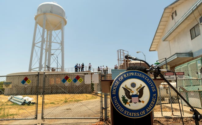 Projects such as the  Dos Palos Water Treatment Plant could be funded by President Biden's infrastructure plan.