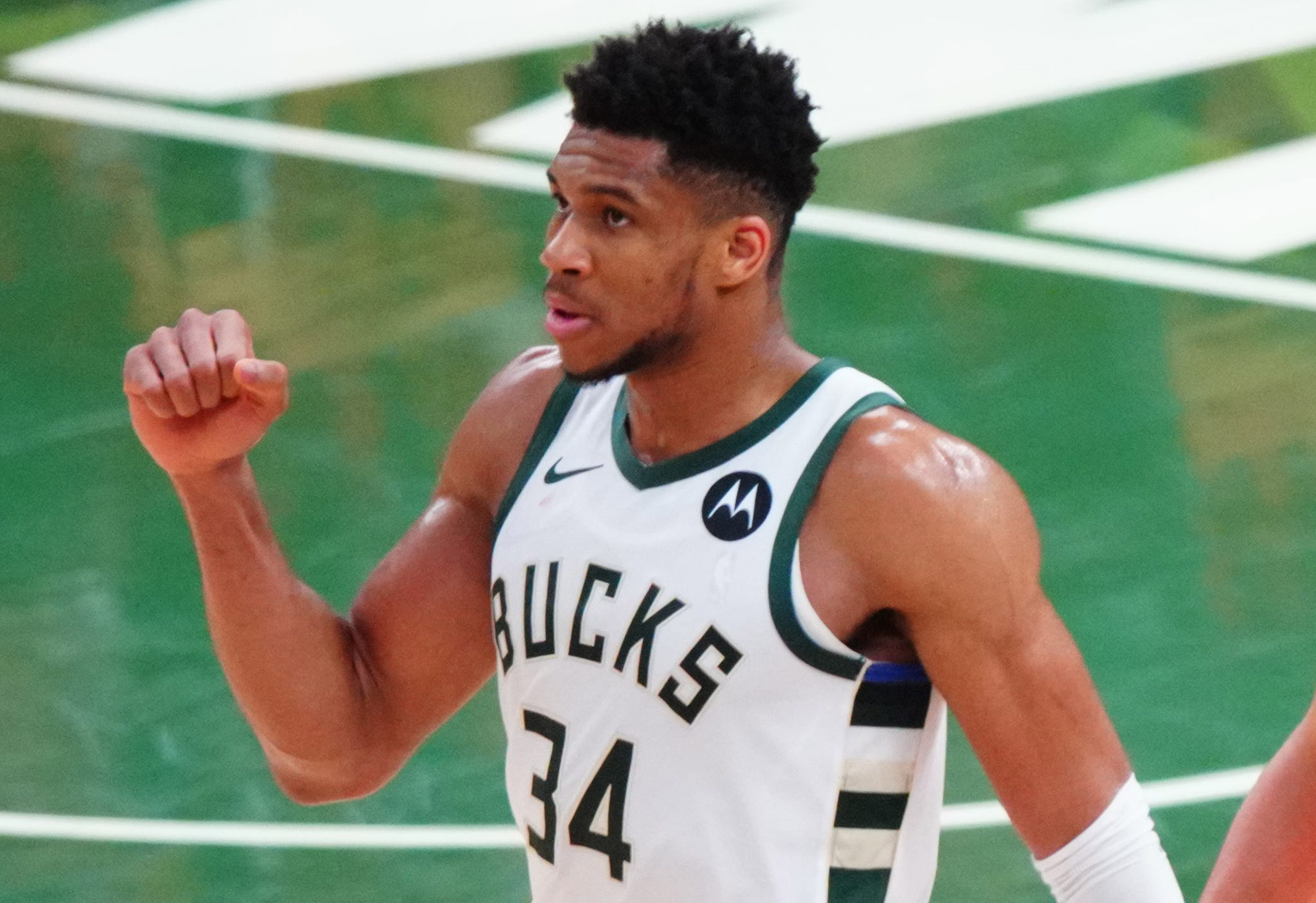 Giannis Antetokounmpo thrives in NBA Finals by living in the moment