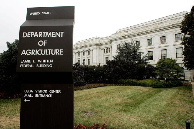The U.S. Department of Agriculture building in Washington, D.C.