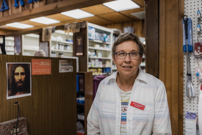 Ellen Weigant, of Weigants' Pharmacy in Pawhuska, has decided to retire after more than 40 years in the profession.