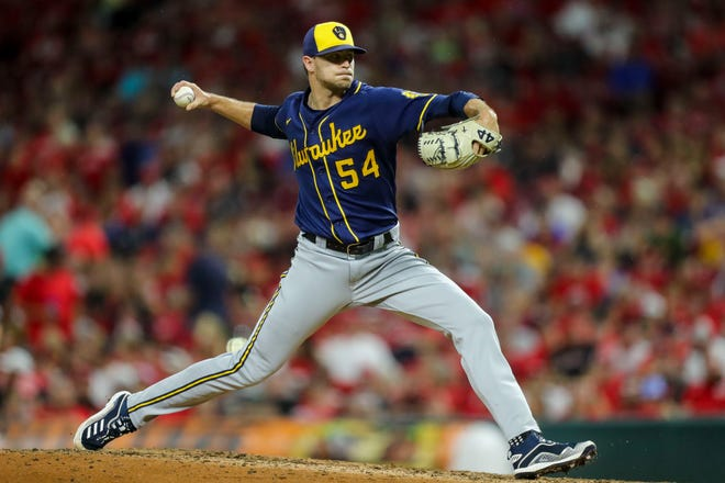 Rookie reliever Jake Cousins pitched his way out of a jam Wednesday night in San Francisco.