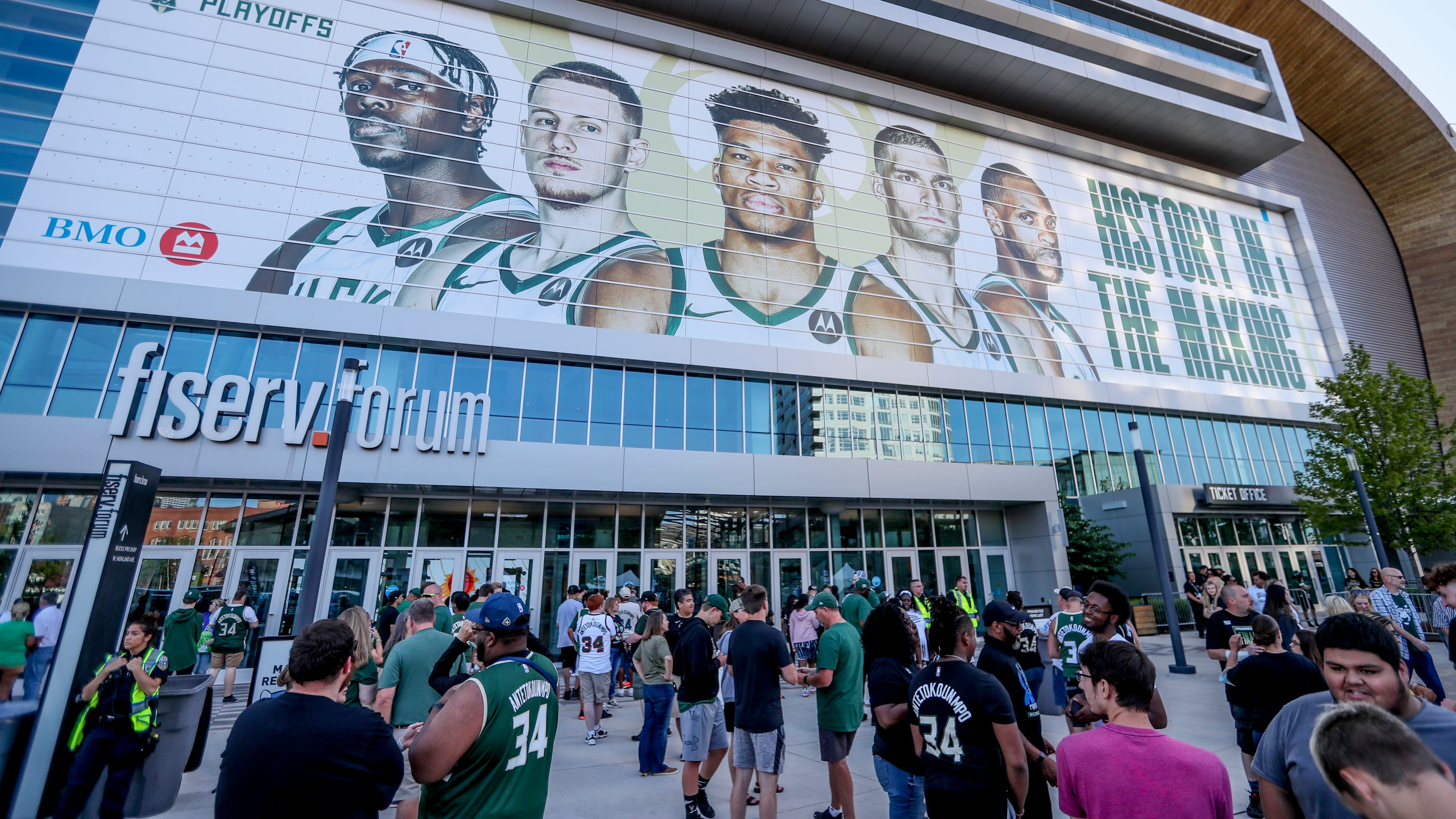 COVID vaccine could mean free NBA Finals Game 6 Bucks ...