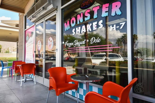 Monster Shakes in Palm Springs, Calif., on Sunday, July 18, 2021.