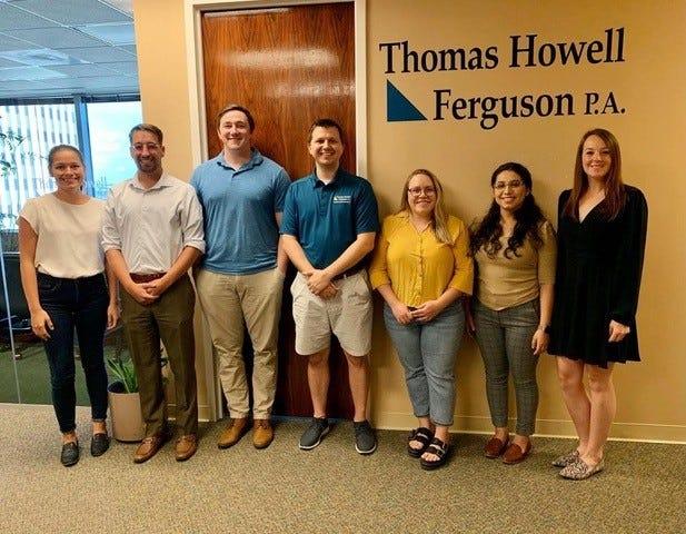 Congratulations to the members of the THF team, Let's Get Fiscal, Megan Townsend, Matt Walker, Lindsey Gregory, Jimmy Kropelin, Madeline Ruttenbur, Bridgette Sanchez, and Phillip Bealor.