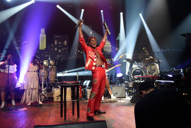 "Jon Batiste taping ""Austin City Limits"" at ACL Live on Sunday, July 18."