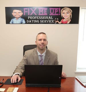 John Schmutzer, owner of Fix Me Up, a dating service based in Cuyahoga Falls, says his job is to introduce people and to understand single people.