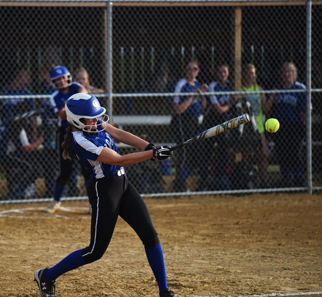 Colo-NESCO's Jenna Hill hit .298 with 17 RBIs and led the Royals in runs (32) and steals during the 2021 softball season.