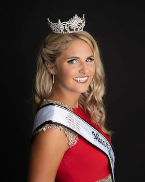 Pictured is Miss Fulton County Fair, 2019/2020 Alexandra Chamberlin.