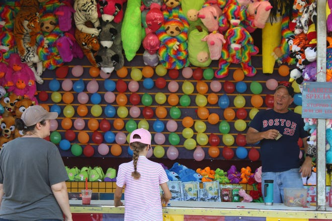 This year's Summerfest included carnival rides, games and fair food at Marina Park, which drew hundreds of people to the four-day event.