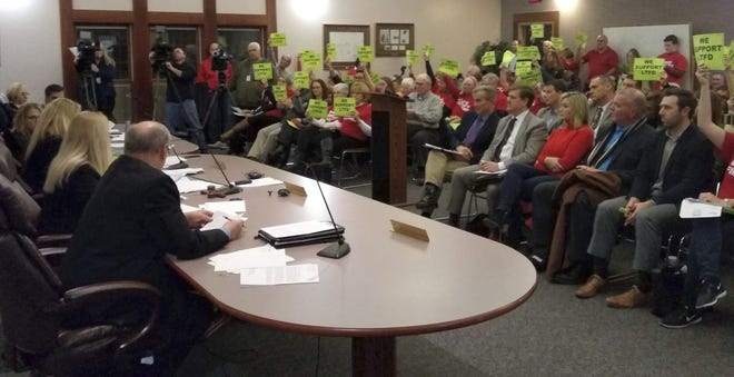 In 2019, Liberty Township trustees made decisions on emergency-medical services that led to contentious public meetings and conflicts among the trustees.