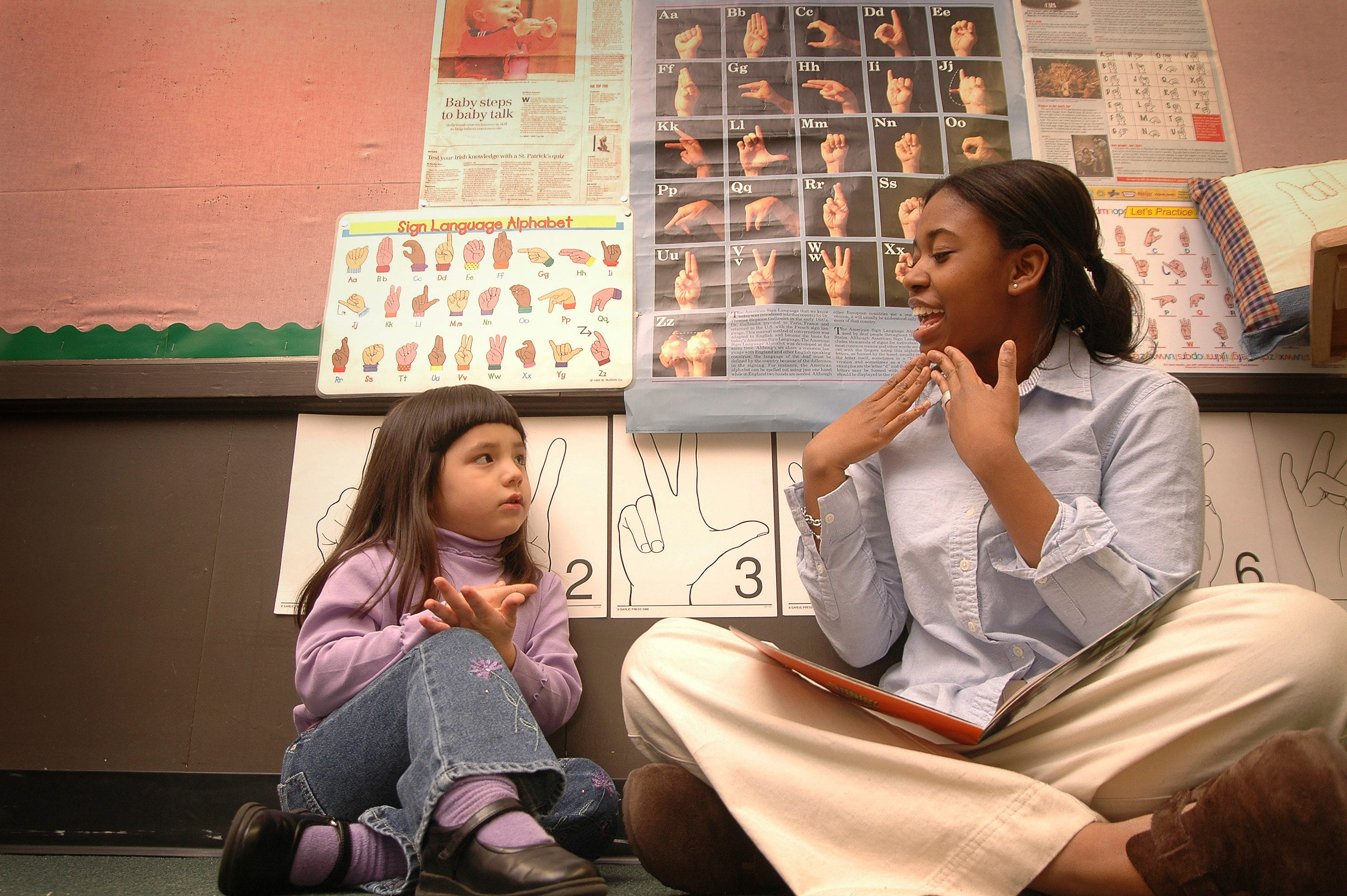 Olivia Nathan won a Jefferson Award in 2005 for her work with hearing impaired people.