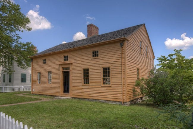 The Amherst Humphrey House in Lima.