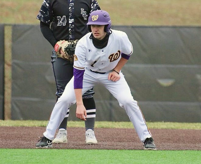Austin Neuweg, because of an arm injury and illness, was forced to play at designated hitter only for Blue Springs in his junior season. The senior-to-be, who led the Wildcats with a .421 average, has been ranked as the No. 7 shortstop in Missouri and has at least one Division I offer already.