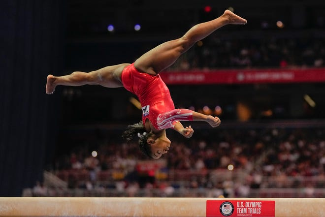 Simone Biles was expected to dominate in gymnastics at the Tokyo Games. She withdrew from two competitions this week, but could still compete in events Sunday through Tuesday.
