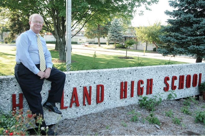 Charles Bullard was the director of bands at Holland High School for 29 years, from 1980 to 2009.