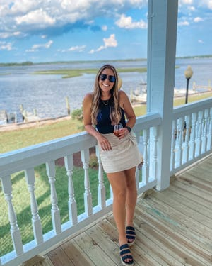 Local Realtor Kendall Burt is the creator of Camp Lejeune Connection, a social media account that mixes real estate content with a dose of life in the Onslow County area.