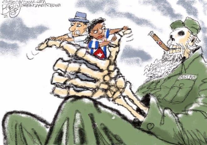 Today's editorial cartoon (July 20, 2021)