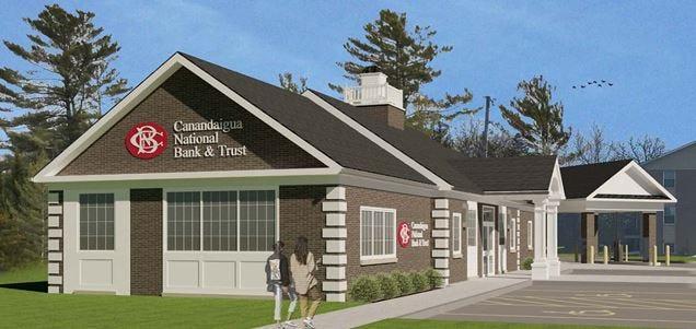 Canandaigua National Bank opens its Geneva branch on Hamilton Street.