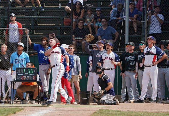 The Newport Gulls hosted the annual New England Collegiate Baseball League All-Star Game, which included a home run derby, at Cardines Field on Sunday.