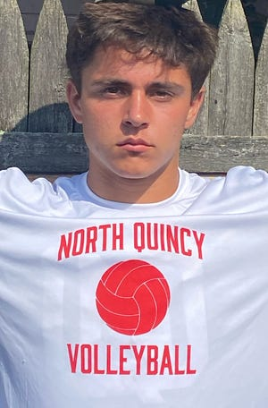 Nathan Caldwell of North Quincy High has been named to The Patriot Ledger All-Scholastic Boys Volleyball Team.