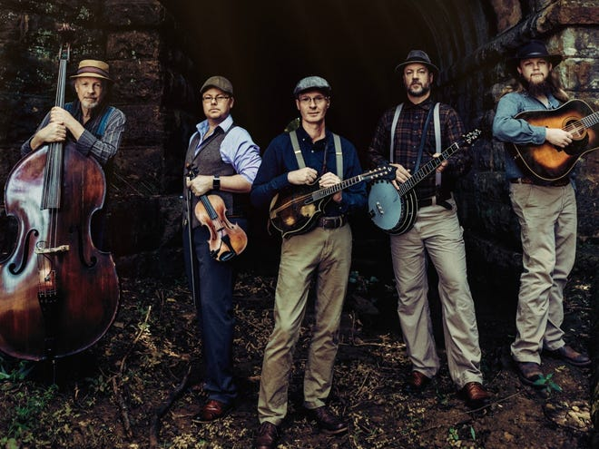 Appalachian Road performs at the Wildflower Music Festival on Saturday in Honesdale.