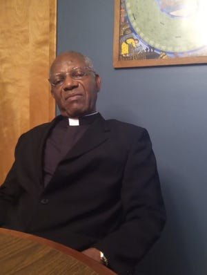 Reverend Charles Atuah began his pastorship at Sacred Heart Church in Pratt on July 6, 2021.