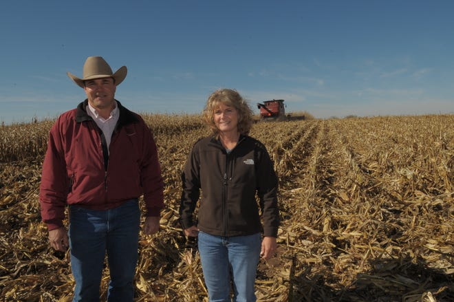 Kevin and Vera Schultz of Haviland were recognized as Master Farmers and Master Farm Homemakers by K-State Research and Extension and the Kansas Farmer Magazine.