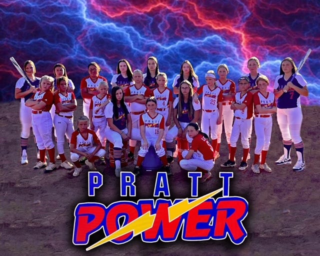Pratt Power softball teams fielded two groups, two different age groups, of girls this year on travel teams that competed across the state all summer.
