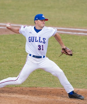 Tyler Mattison, seen here when he played for the Newport Gulls, signed a contract with the Detroit Tigers on Monday after being selected 104thoverall in the MLB Draft last week.