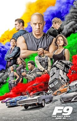 """""""F9: The Fast & Furious Saga"""" will be shown this weekend at Story Theater in Story City."""