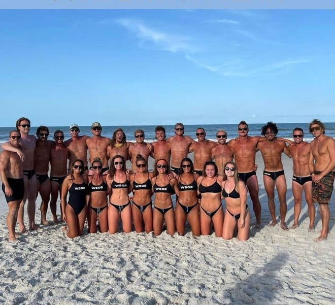 2021 Wrightsville Beach Ocean Rescue Competition Team