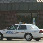 Police car patrolling