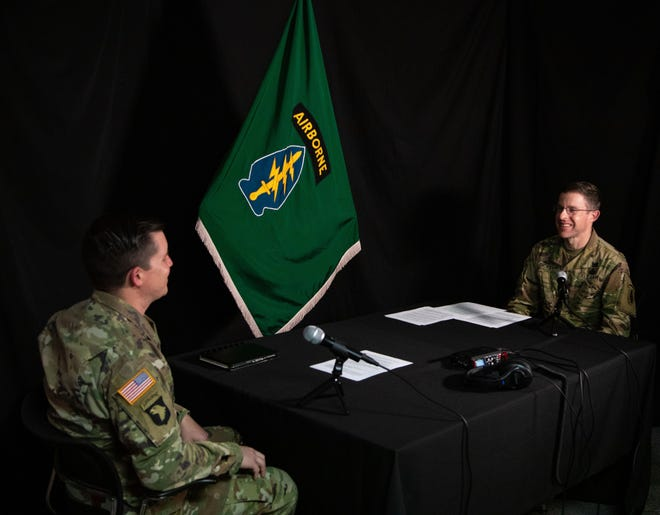 Col. Eric Kreitz speaks with chaplain Col. Chris Dickey on the 1st Special Forces Command podcast about his recovery from alcoholism.